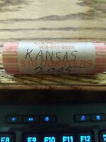 ROLL OF 40 STATE QUARTERS UNCIRCULATED KANSAS