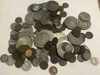 HUGE OLD US COIN COLLECTION SILVER 20 MORGAN PEACE DOLLARS M
