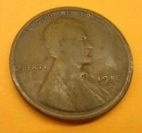 1918 S LINCOLN WHEAT CENT CENT