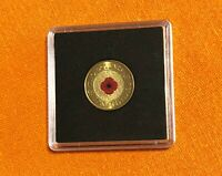 2012    RED POPPY    REMEMBRANCE $2 COIN    UNCIRCULATED IN