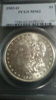 1902 O MORGAN SILVER DOLLAR PCGS MINT STATE 62