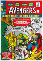 MARVEL COMICS   AVENGERS 1   SILVER FOIL 1 OZ.   FOURTH IN THE SERIES