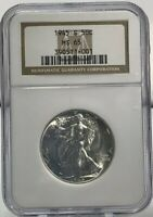 1945-S WALKING LIBERTY HALF DOLLAR NGC MINT STATE 65 BLAST WHITE  COIN