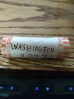 ROLL OF 40 STATE QUARTERS UNCIRCULATED WASHINGTON