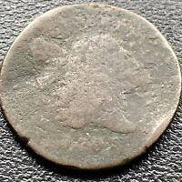 1795 LIBERTY CAP HALF CENT 1/2 FLOWING HAIR  LETTERED EDGE 22547