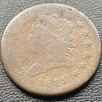 1811 LARGE CENT CLASSIC HEAD ONE CENT 1C  BETTER GRADE 22623