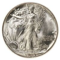 1943 WALKING LIBERTY 50C PCGS CERTIFIED MINT STATE 65 US MINT SILVER HALF DOLLAR COIN