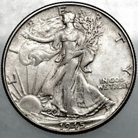 1945P WALKING LIBERTY HALF DOLLAR8 EXTRA FINE  FOR YOUR COLLECTION