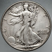 1940P WALKING LIBERTY HALF DOLLAR8 EXTRA FINE  FOR YOUR COLLECTION