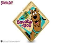 NEW   OFFICIAL SCOOBY DOO 24 CARAT GOLD PLATED 2020 COMMEMOR