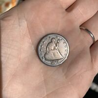 1875 S 20 TWENTY CENT PIECE UNITED STATES SILVER COIN
