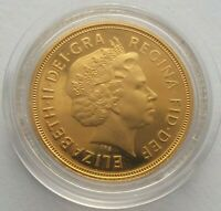 2004 ELIZABETH II GOLD SOVEREIGN IN CAPSULE.