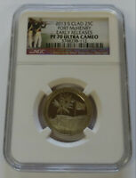 2013 S FORT MCHENRY NGC PF70 ULTRA CAMEO EARLY RELEASE CLAD