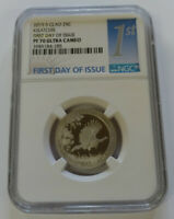 2015 S KISATCHIE NGC PF70 ULTRA CAMEO FIRST DAY ISSUE CLAD Q