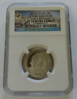 2013 S MOUNT RUSHMORE NGC PF70 ULTRA CAMEO EARLY RELEASE CLA