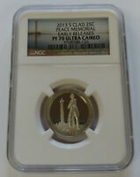 2013 S PEACE MEMORIAL NGC PF70 ULTRA CAMEO EARLY RELEASE CLA