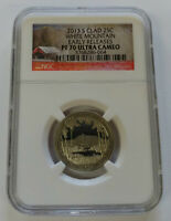 2013 S WHITE MOUNTAIN NGC PF70 ULTRA CAMEO EARLY RELEASE CLA