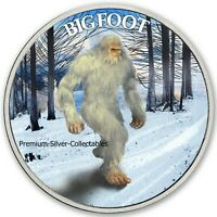 2019 USA CRYPTOZOOLOGY SERIES BIGFOOT WINTER    SILVER COLOR