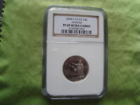 2008 S CLAD  25CHAWAII PF 69 ULTRA CAMEO STATE QUARTER