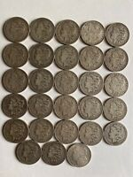 MORGAN SILVER DOLLARS ROLL LOT 1879 - 1901 28 EXCEPTIONAL COINS GROUP