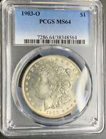 1903-O $1 PCGS MINT STATE 64 BETTER DATE- MORGAN SILVER DOLLAR