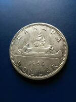 1966 CANADIAN SILVER DOLLAR  $1  NO RESERVE