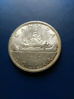 1965 CANADIAN SILVER DOLLAR  $1  NO RESERVE