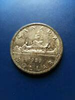 1959 CANADIAN SILVER DOLLAR  $1  NO RESERVE