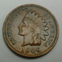 1906 P INDIAN HEAD CENT PENNY  GOOD OR BETTER  SHIPS FREE