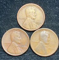 1928 P D S LINCOLN WHEAT PENNIES- SHIPS FREE