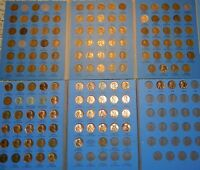 LINCOLN WHEAT CENT CENT NEAR COMPLETE MISSING 4 SET 1909 S / VDB 1914-D 1931-S