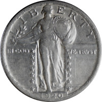 1920 STANDING LIBERTY QUARTER EF 90 SILVER COLLECTIBLE GIFT IDEA 1916-30 11