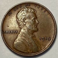 1  FINE LOW MINTAGE 1910 P LINCOLN WHEAT CENT