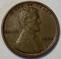 1 CH/BU UNCIRCULATED LOW MINTAGE 1925 P LINCOLN WHEAT CENT