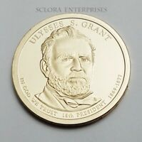 2011 S ULYSSES S. GRANT PRESIDENTIAL  PROOF  DOLLAR COIN SHIPS FREE