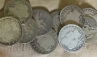 TEN 10  BARBER QTRS.. $2.50 FACE OLD SILVER.. GOOD MIX OF DA