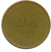 COIN / COLOMBIA / 100 PESOS 2014  WT14187
