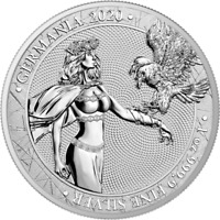 GERMANIA 2020 SILBER 1 OZ UNZE SILVER ARGENT 5 MARK