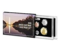 2020 US MINT 10 COIN SILVER PROOF SET  NO