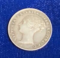 GREAT BRITAIN FOURPENCE 1839 VICTORIA
