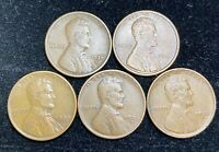 1934 PD 1935 PDS LINCOLN WHEAT PENNIES- SHIPS FREE
