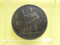 1896 A FRENCH INDO CHINA SILVER PIASTRE