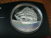 2005 CANADIAN $20 TALL SHIPS  3 MASTED SHIP   SILVER
