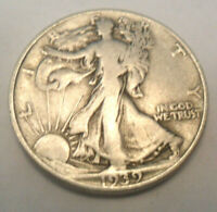 1939 S WALKING LIBERTY HALF DOLLAR AG OR BETTER 90 SILVER SHIPS FREE