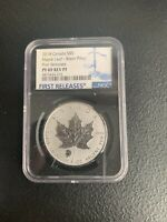 2018 CANADA $5 MAPLE LEAF BISON PRIVY NGC PF69 REV PROOF  NO