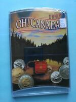 1999 RCM OH  CANADA UNC COIN SET SEALED NEVER OPENED NO RESE