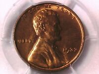 1932 P LINCOLN WHEAT CENT PCGS MINT STATE 65 RD 84388903