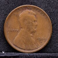 1909-S LINCOLN WHEAT CENT - VG 30974