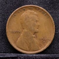 1909-S LINCOLN WHEAT CENT - VG 30923