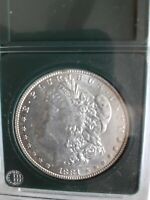 1881 MORGAN SILVER DOLLAR. GEM LIKE